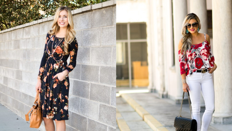 Steps : How to nail floral look