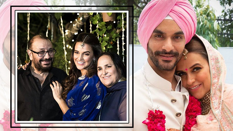 Neha Dhupia's father breaks silence on his daughter's pregnancy