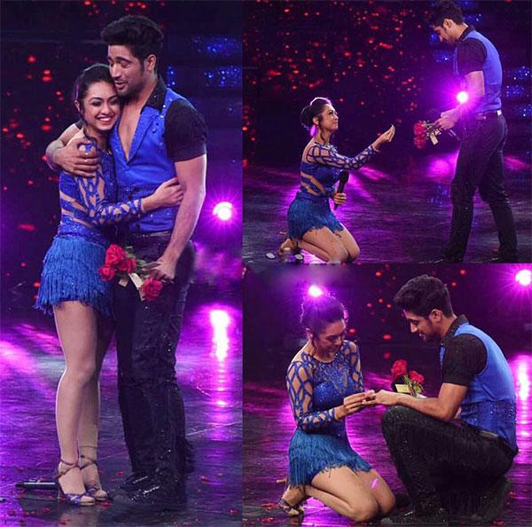 Abigail Pande and Sanam Johar proposal