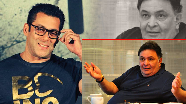 When 'Rishi Kapoor' misbehaved Salman's sister-in-law Seema
