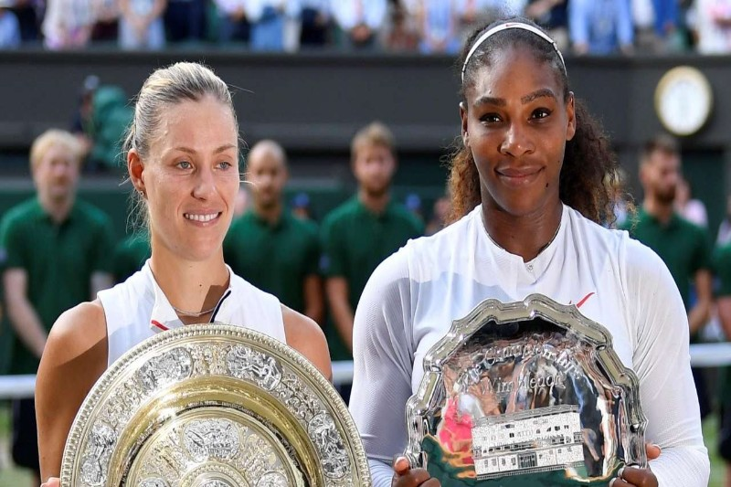 Serena jumps 153 places, Kerber makes Top 4