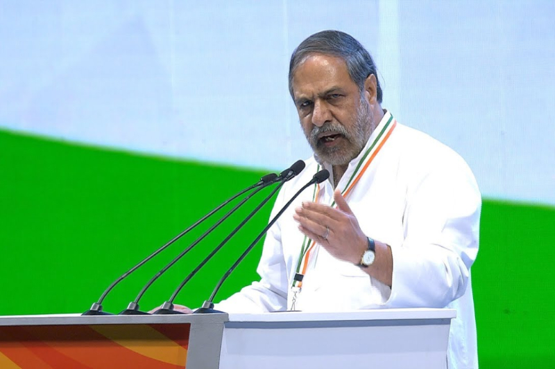 Congress spokesperson Anand Sharma