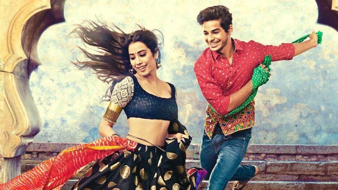 How much did Janhvi get paid for Dhadak?