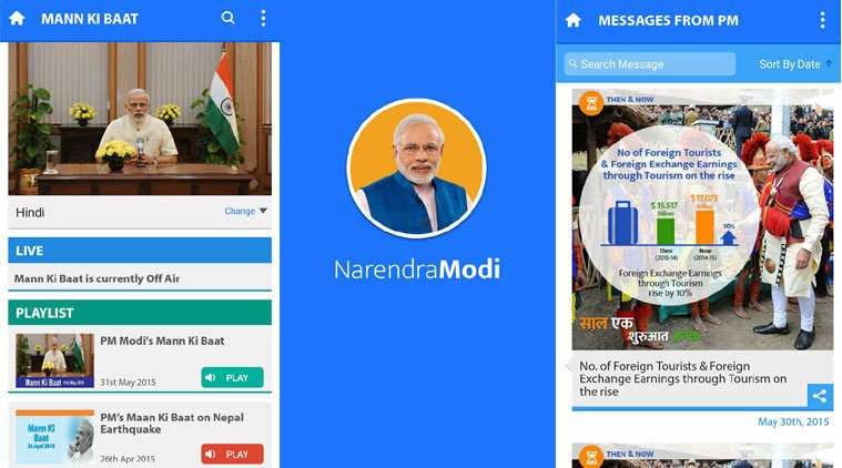 The official app of the Prime Minister of India Narendra Modi, this app is a one-stop destination for knowing about all the latest day-to-day activities of the Prime Minister. It provides an exclusive and unique opportunity to receive messages and emails directly from the Prime Minister. Not just this, it allows users to contribute and earn badges through to-do tasks. With the launch of this app, Narendra Modi became the first political leader who has his own mobile app, and he uses this platform to share his ideas to all. One can tune in and listen to the various 'Mann ki Baat' editions of the PM, read his blogs and know more about him in the biography section.