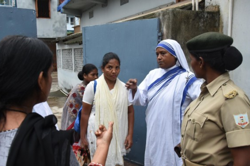 Nun Jharkhand arrested for Child trafficking