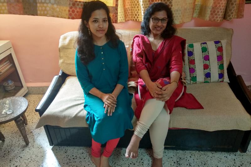 Shubhada Varadkar and Mithali 2