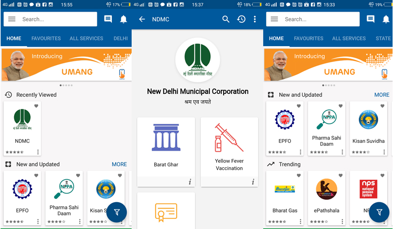 Developed by Ministry of Electronics and Information Technology (MeitY) and National e-Governance Division (NeGD), this app brings together all government departments and their services on a single platform to provide better and easier services to citizens. It's an evolving platform that provides – among other things -- Digital India Services like Aadhaar, DigiLocker, and PayGov.