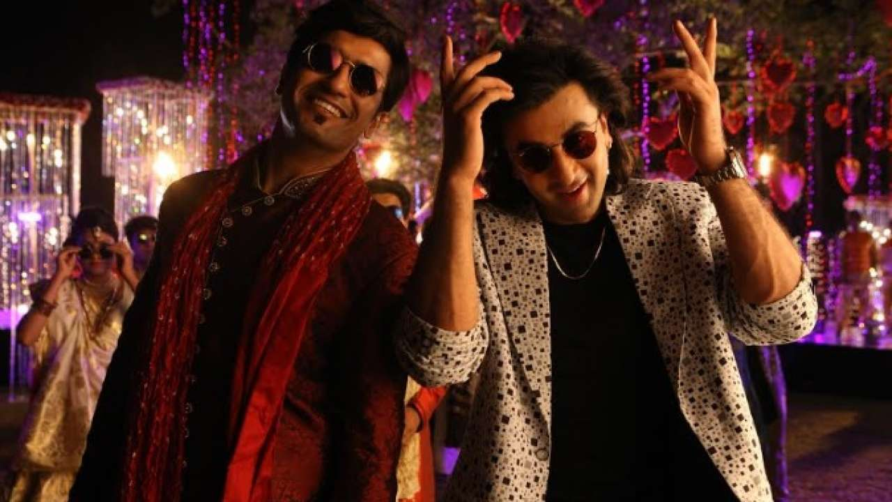 Vicky Kaushal with Ranbir Kapoor in the film Sanju