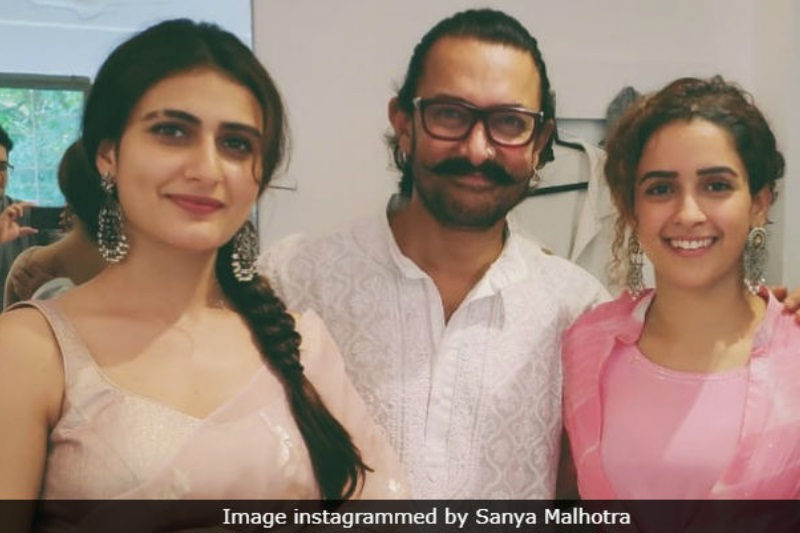 Aamir Khan celebrates Eid 2018 with Dangal sisters