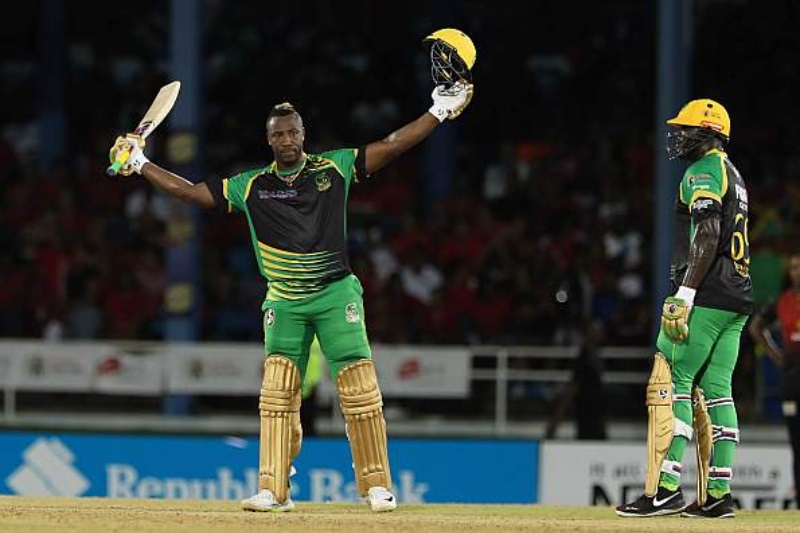 Andre Russell's majestic knock sets Twitter on fire