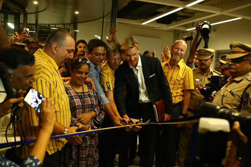 Ikea's opening day
