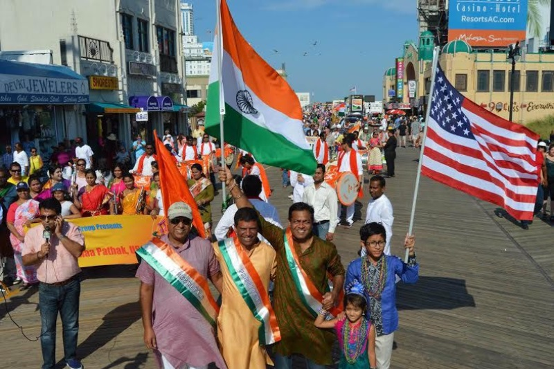 Atlantic city-India Parade