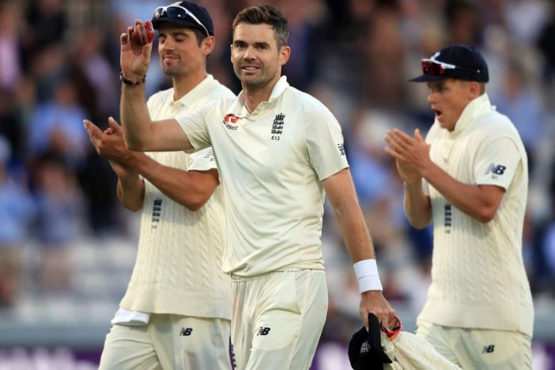 England vs India: James Anderson first bowler to take 100 wickets at Lord's