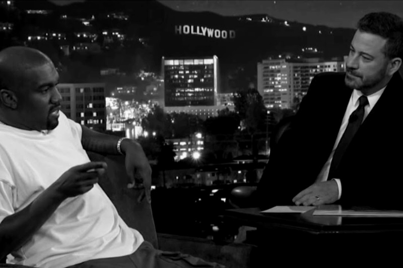 Kanye West stumped Jimmy Kimmel Show