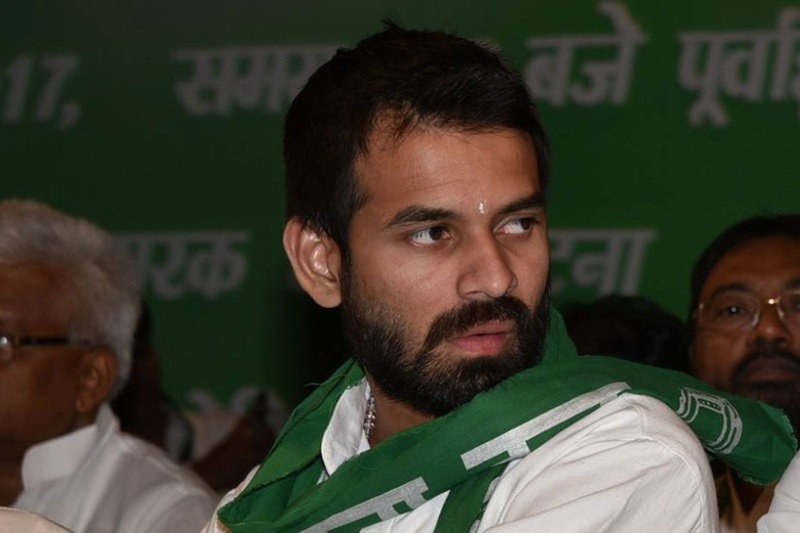 Tej Pratap return home post-divorce talks