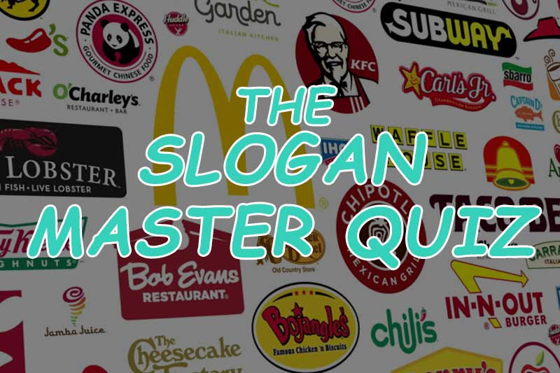 Food Quiz How Well Do You Know Your Fast Food Restaurant Slogans
