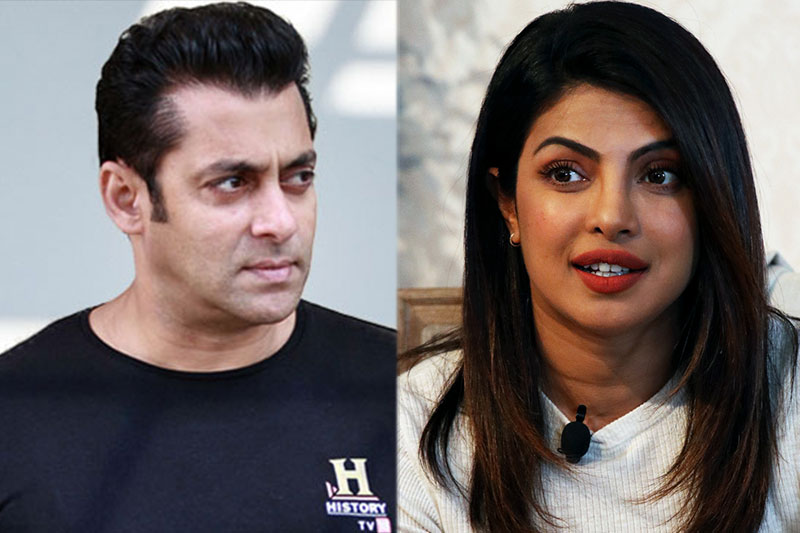 Salman Khan reacts to Priyanka Chopra quitting Bharat