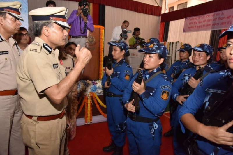 All-woman SWAT team ready to fight terrorists in Delhi. The new batch is set to take charge on the upcoming Independence Day