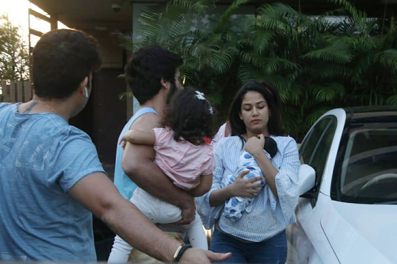 First picture of Shahid and Mira's son Zain Kapoor