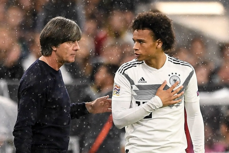 Leroy Sane leaves Germany national squad citing 'private reasons'