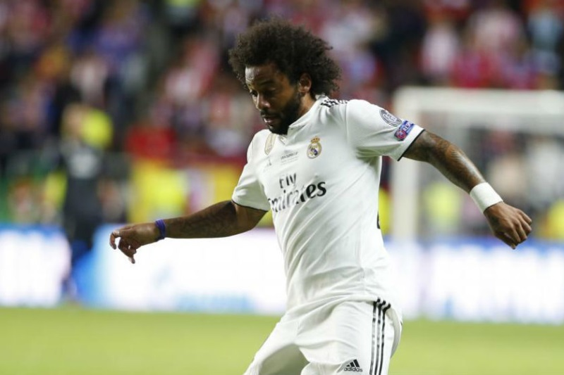 Marcelo hopes to finish playing career in Real Madrid
