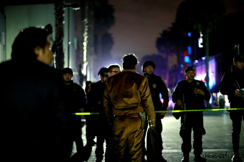 Three shot dead in Mexico City tourist hotspot, gunmen flee