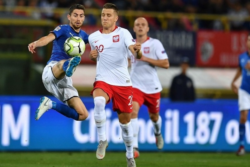 Nations League: Penalty helps Italy draw against Poland; Russia beat Turkey