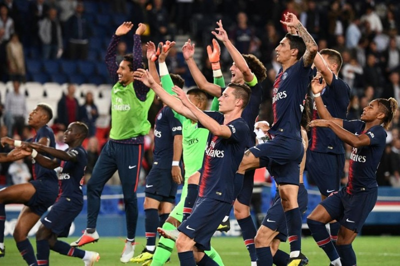 PSG dominate Saint-Etienne without Maymar, Mbappe