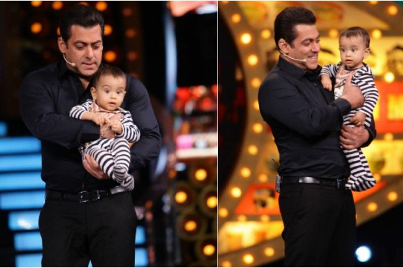Salman Khan's Paint Date With Nephew Ahil