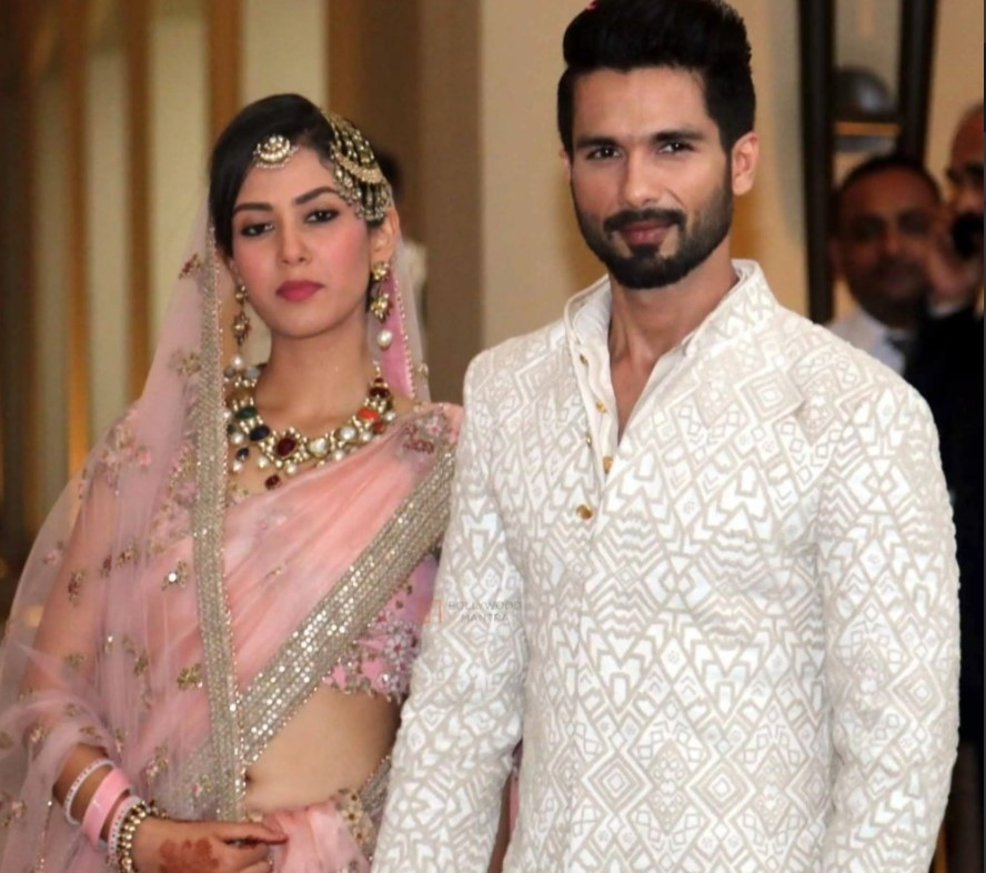 Shahid Kapoor with wife Mira