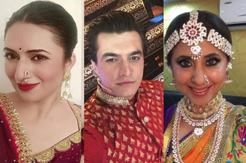 TV celebrities shoot special Ganesh Chaturthi program