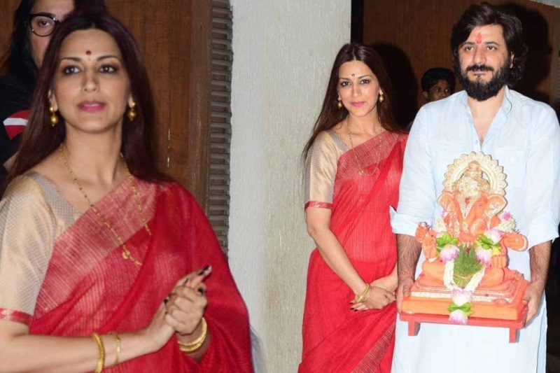 Sonali Bendre misses Ganpati celebrations