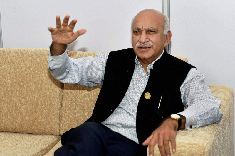 MJ Akbar sexual harassment accusation