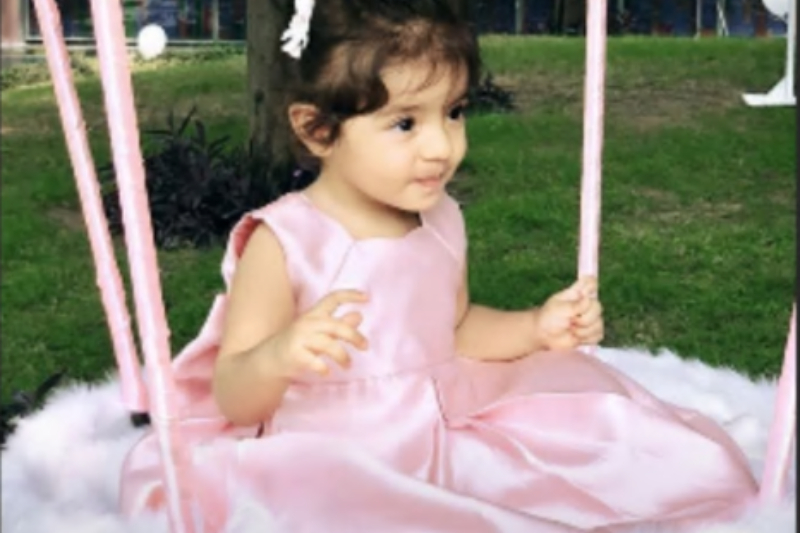 Asin finally shared her daughter pictures on her first Birthday