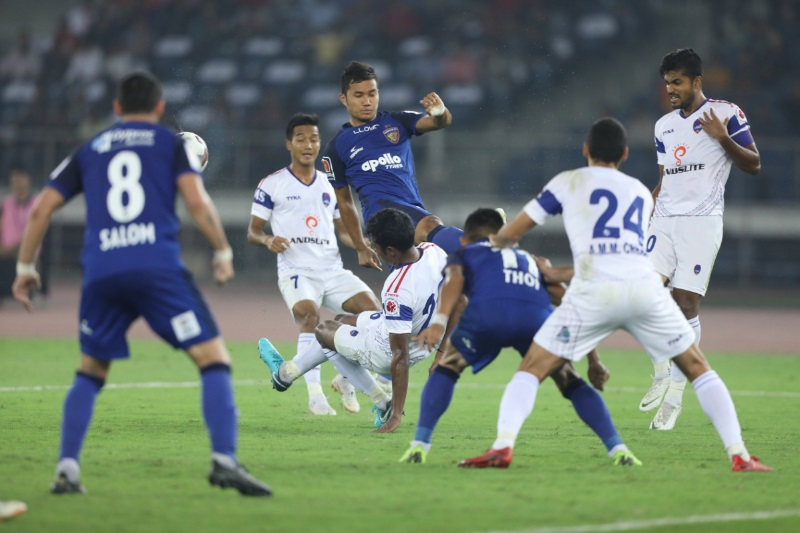 Goalkeeper Francisco Dorronsoro stars Delhi hold Chennaiyin goalless draw