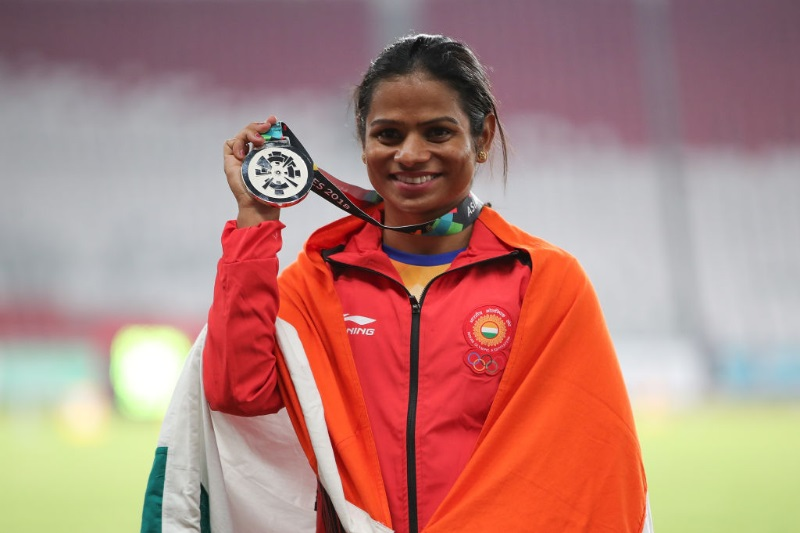 Dutee Chand train abroad