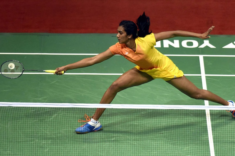 French Open PV Sindhu beat Beiwen Zhang advance second round