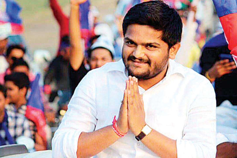 Hardik Patel attacks BJP