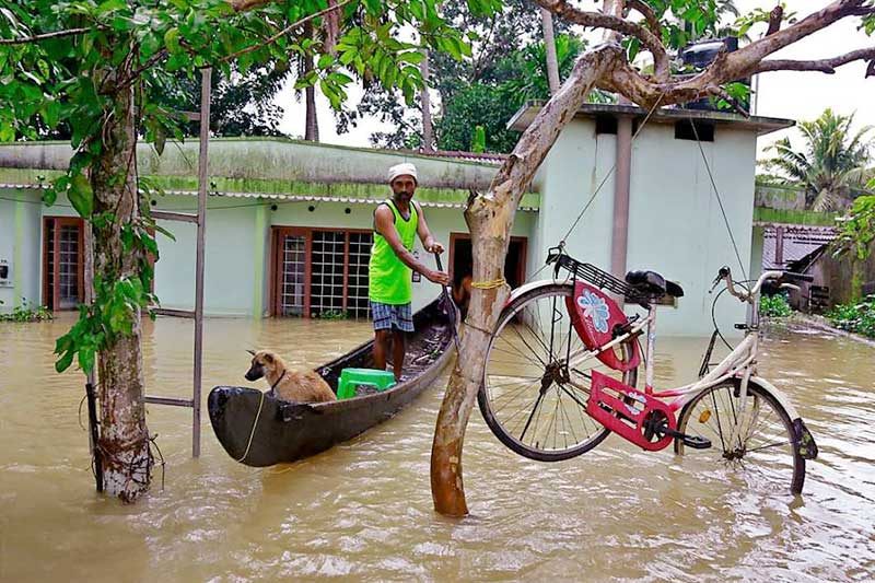 IMD issues heavy rainfall warning south India