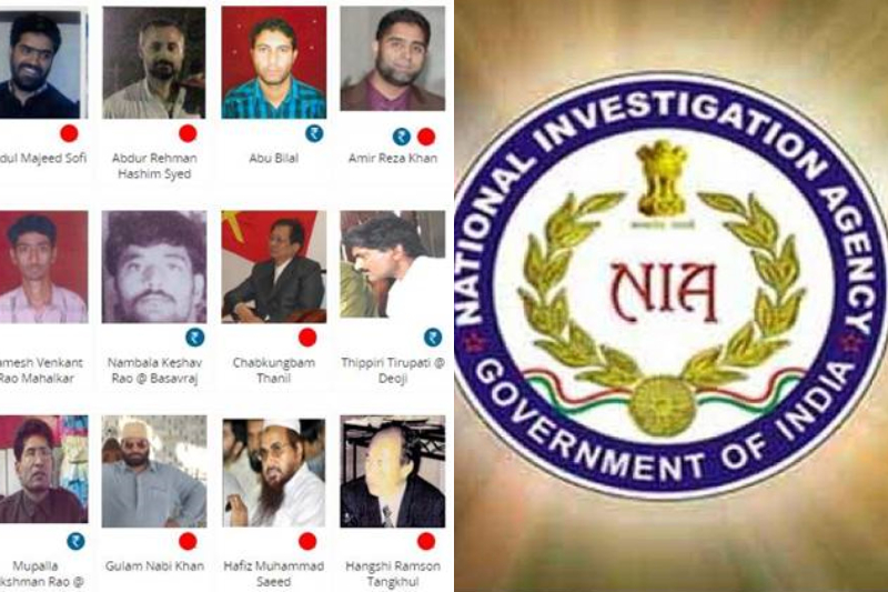 NIA Issued Most Wanted List