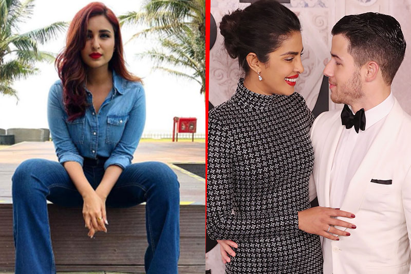 Parineeti charged Nick Jonas joota chupai