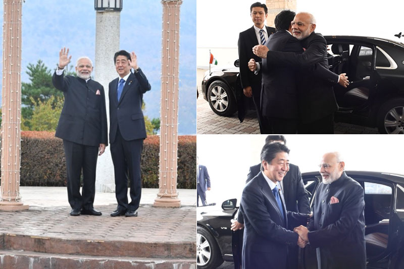 PM Modi with Japanese Counterpart discussed about Defense & Regional Security