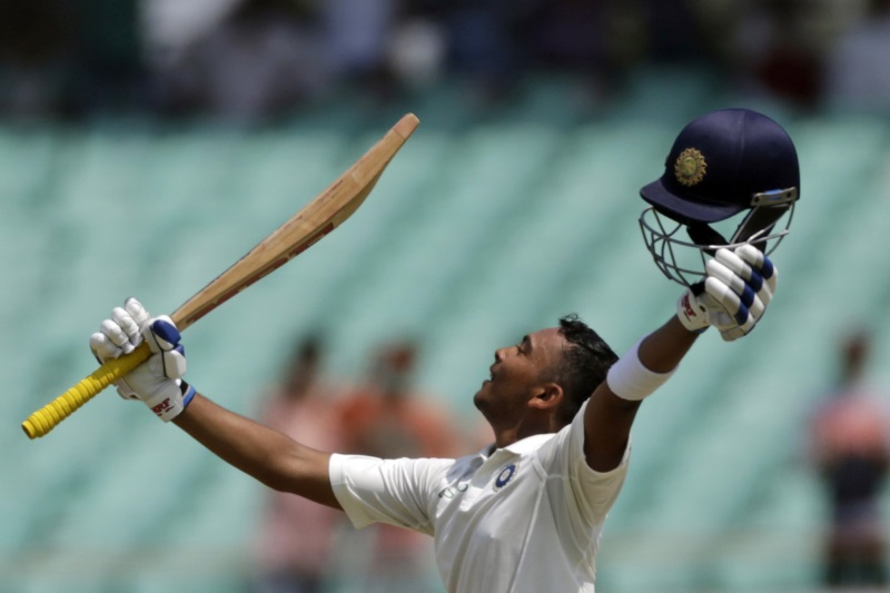 Fans erupt over teenage prodigy's historic Test century