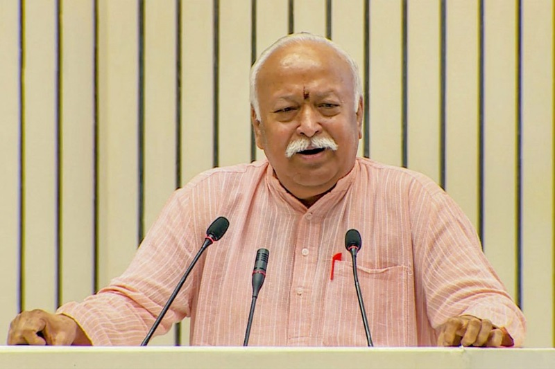 Man circulating RSS president Mohan Bhagwat morphed picture WhatsApp