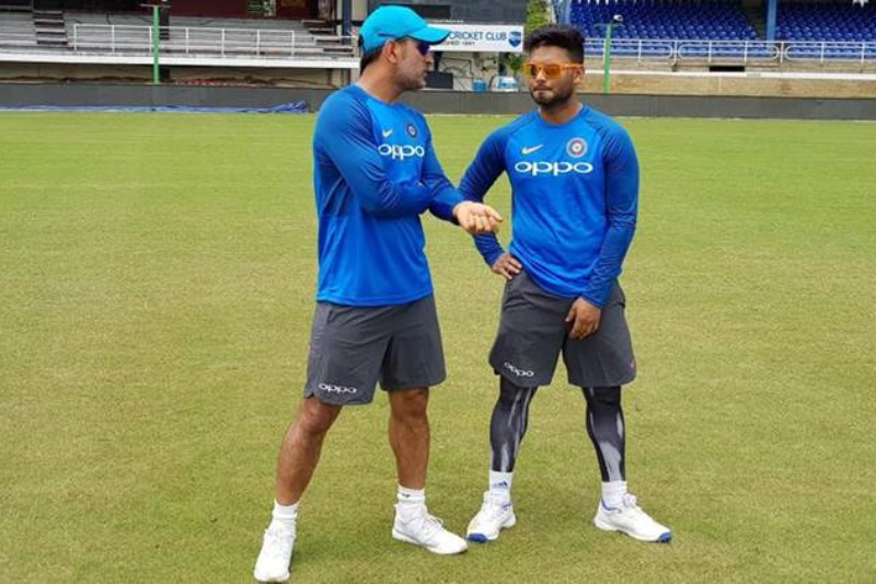 Rishabh Pant included 12-man shortlist 1st ODI India West Indies
