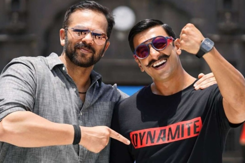 Simmba Ranveer Singh behind the scenes action