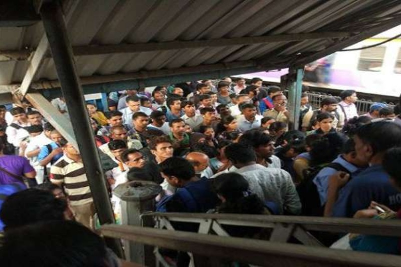overbridge stampede Santragachi railway station