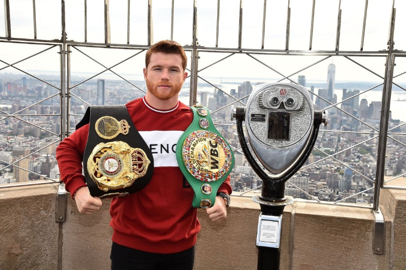 Canelo Alvarez Signs Biggest Contract In Sports History