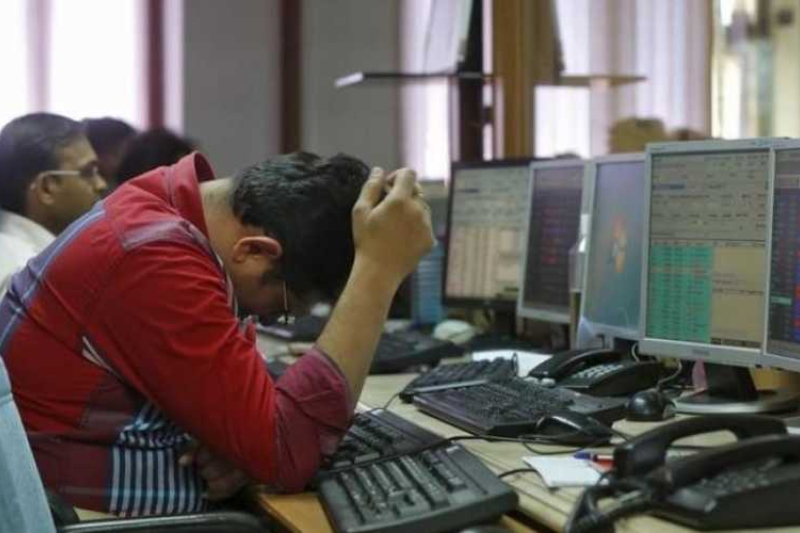 Stock market Sensex Nifty down