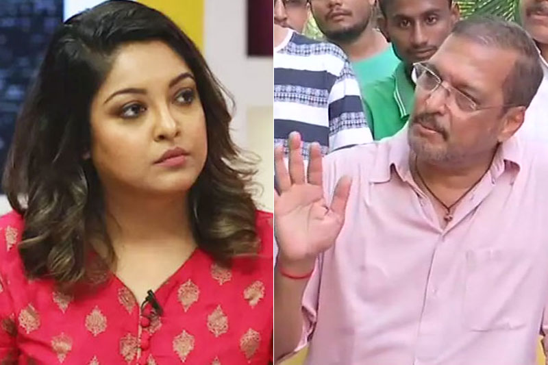 Nana Patekar media Tanushree Dutta